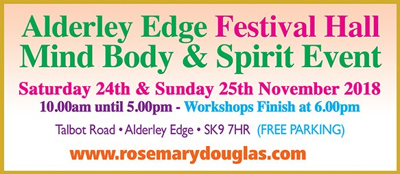 Rosemary Douglas MBS Events, Alderley Edge
