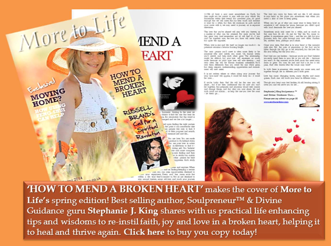 Cover story to mend a broken heart!