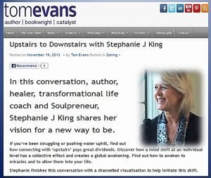 tome evans interview