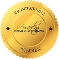 women in biz winners badge